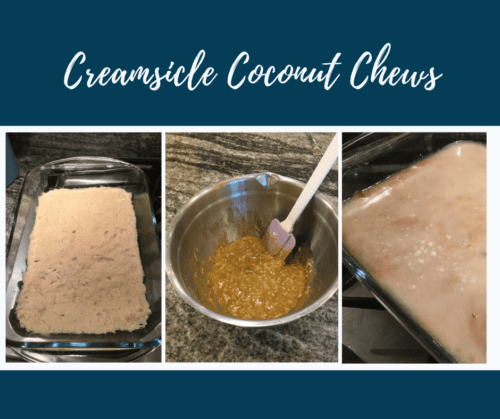 Creamsicle Coconut Chews Recipe
