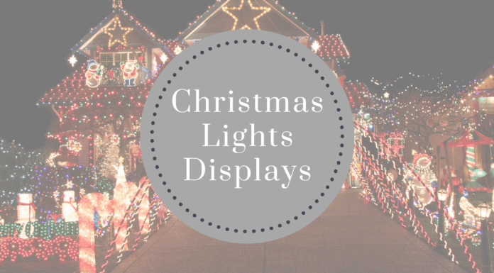 Best Places to see Christmas Lights Displays around Iowa City area