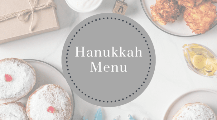 Hanukkah Menu and Recipes