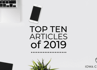 Top Ten Most Popular Articles of 2019