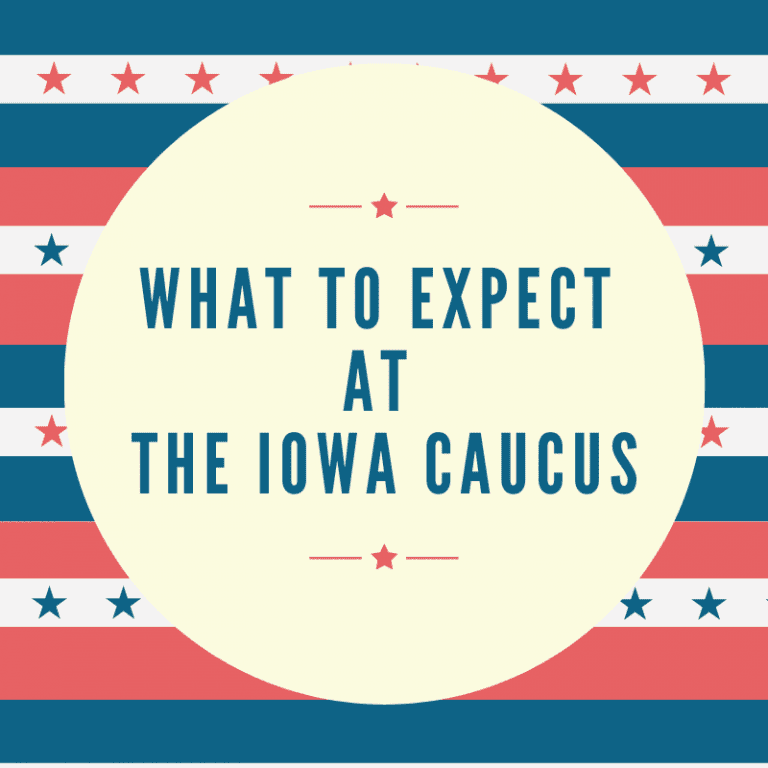The Iowa Caucus: Where to Go + What to Expect