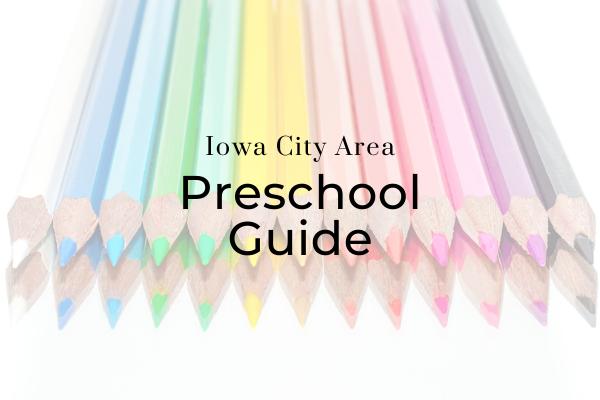 Iowa City Preschool Guide 2020
