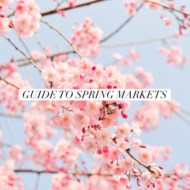 Guide to Spring Markets and Craft Shows