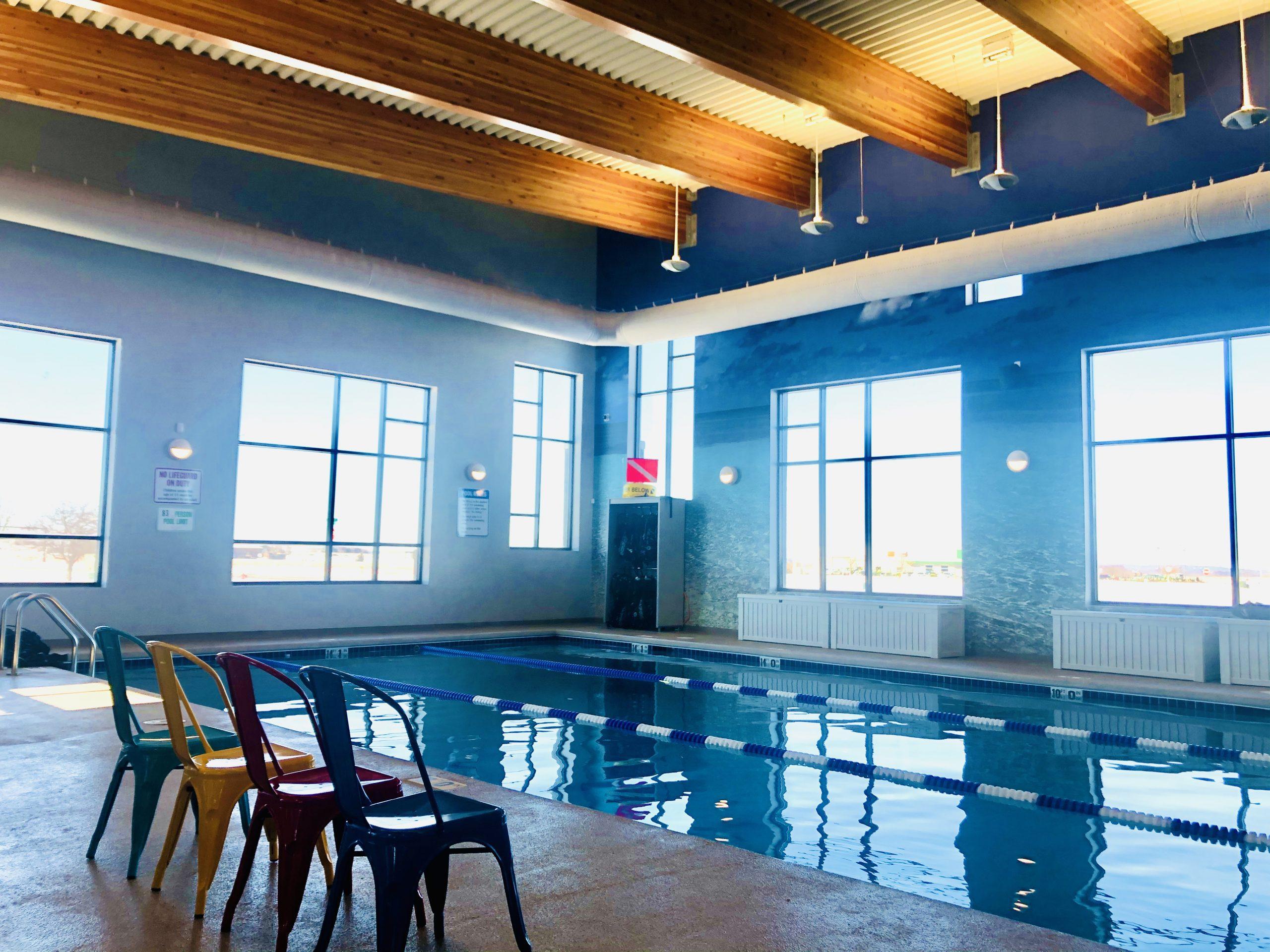 Diventures North Liberty indoor pool