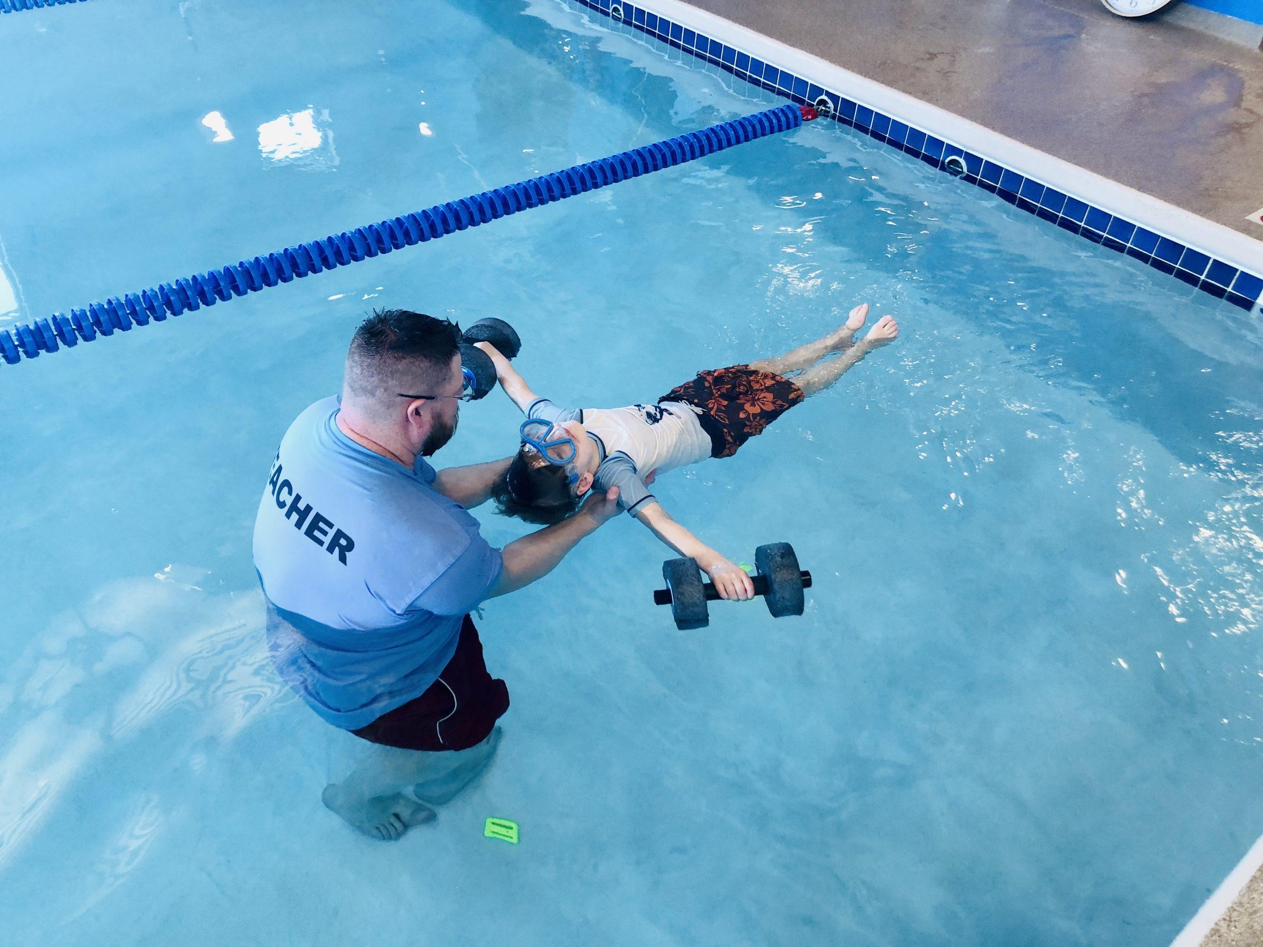 Diventures private swimming lessons