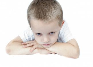 An image of a child feeling sad