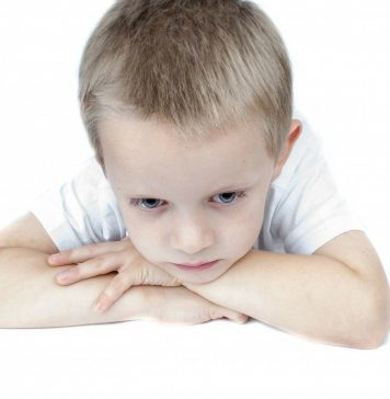 An image of a child feeling sad