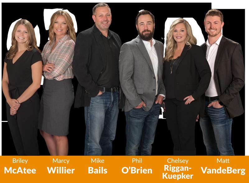 A photo of the Urban Acres Bails Team