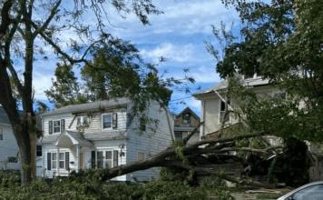 Derecho storm aftermath