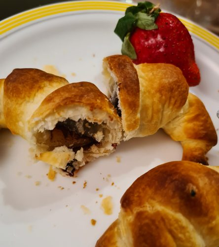 An image of Easy Chocolate Croissants