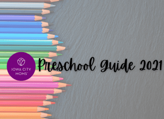 Iowa City Area Preschool Guide graphic