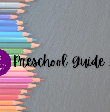 Iowa City Area Preschool Guide graphic