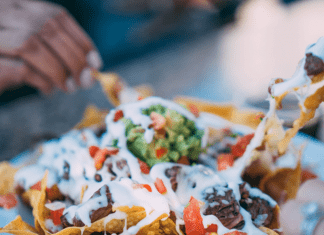 nachos - a fun weekend meal at home