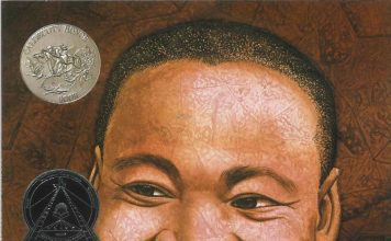 One of 5 books about Black leaders: Martin's Big Words
