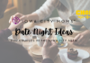 graphic: date night ideas for couples in the Iowa CIty area