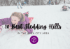 Ten Best Iowa City Sledding Hills graphic