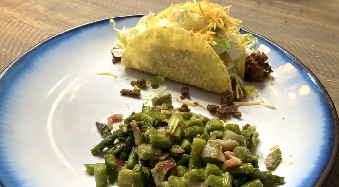 Simple Southern Fried Cabbage/Asparagus Recipe