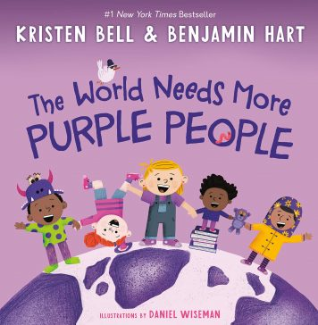 """Book: """"The World Needs More Purple People"""""""
