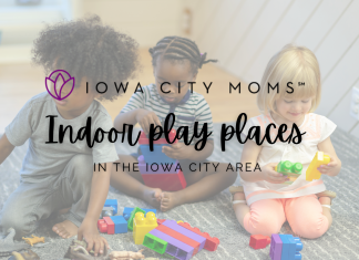 Iowa City Area Indoor Play Spaces Graphic