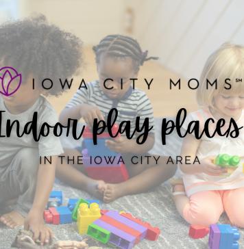 Iowa City Area Indoor Play Spaces Graphic