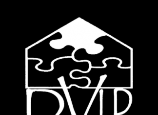 The DVIP or domestic violence intervention program logo