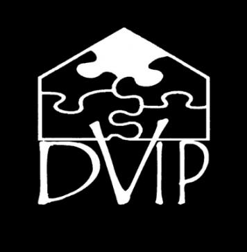 The DVIP or domestic violence intervention program logo