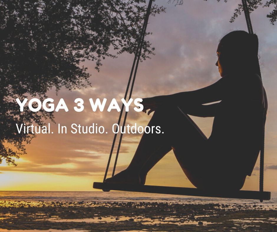 graphic: yoga 3 ways in the Iowa City area
