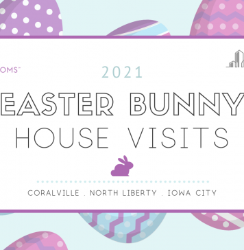 Easter Bunny House Visits in the Iowa City Area