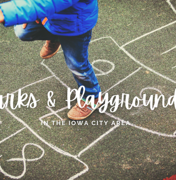 Graphic: Best Parks and Playgrounds in the Iowa CIty area