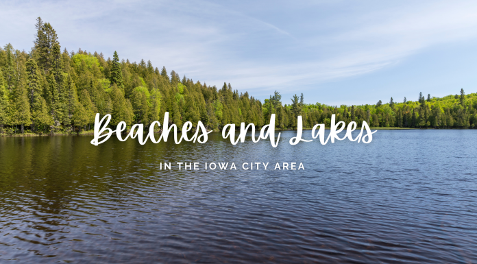 Beaches and Lakes in the Iowa City area