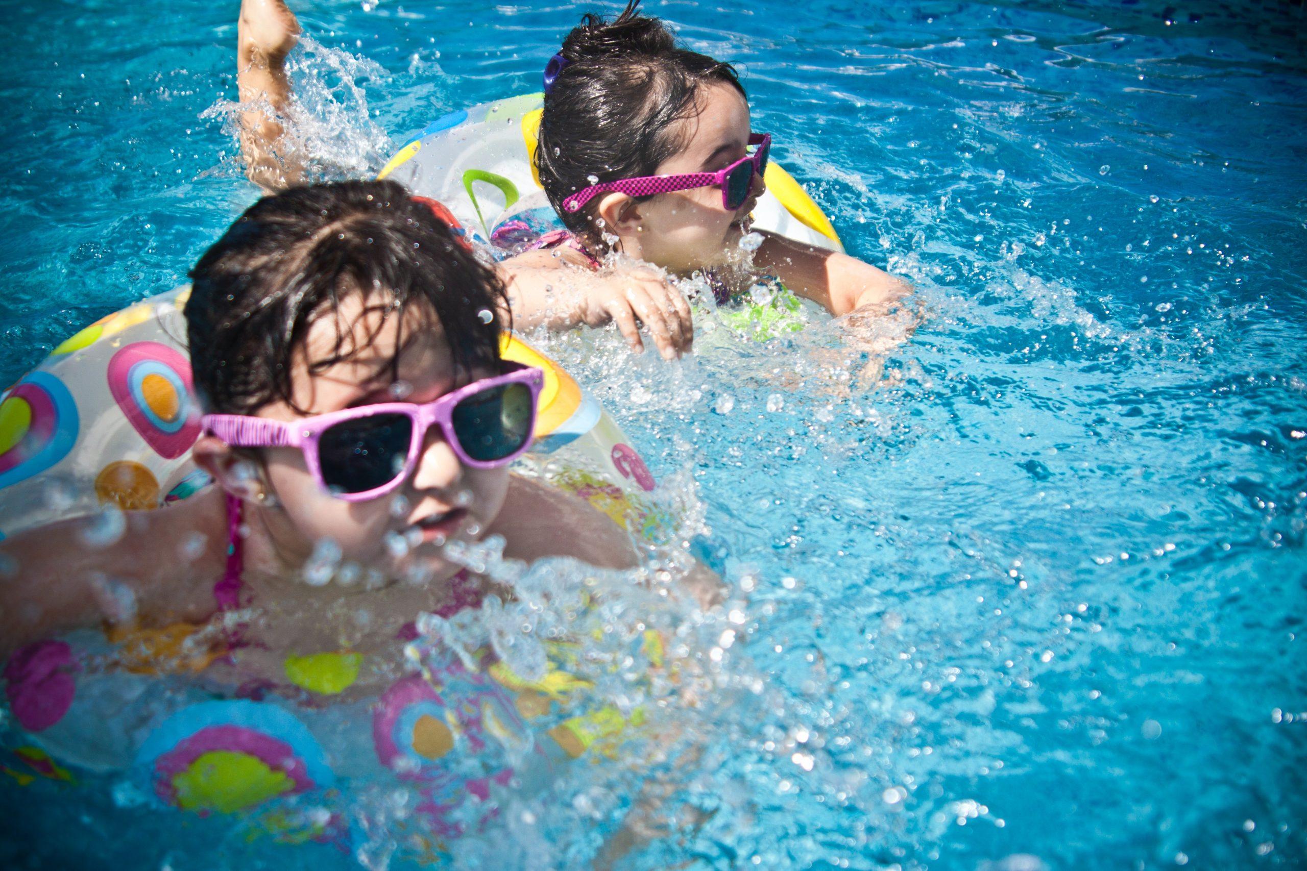 Girls swimming: Iowa City area pools and splash pads