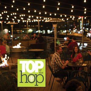30 Hop rooftop patio in Coralville