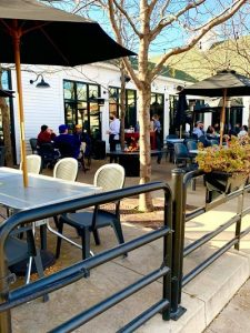 Solon patio at Big Grove