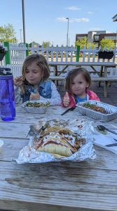 Outdoor dining at Estela's