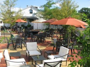 Red's patio in North Liberty