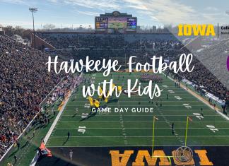 Hawkeye Football with Kids