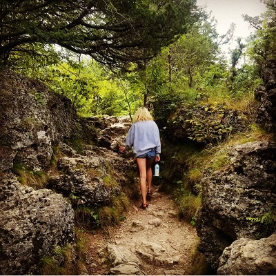 Iowa state park hiking