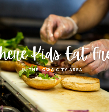 Graphic: Where kids can eat free in the Iowa City area
