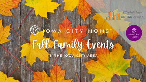 Graphic: Guide to Fall Family Events in the Iowa City Area