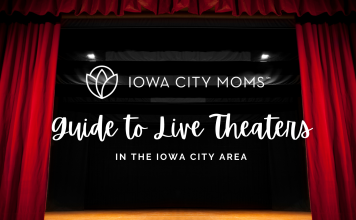 Guide to Live Theaters in the Iowa City Area