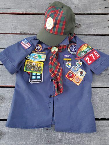A Cub Scout uniform: Guide to Cub Scouts in the Iowa CIty area