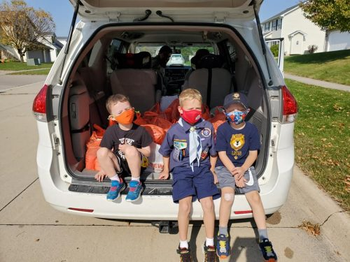 Three cub scouts: a guide to cub scouts in the Iowa City area