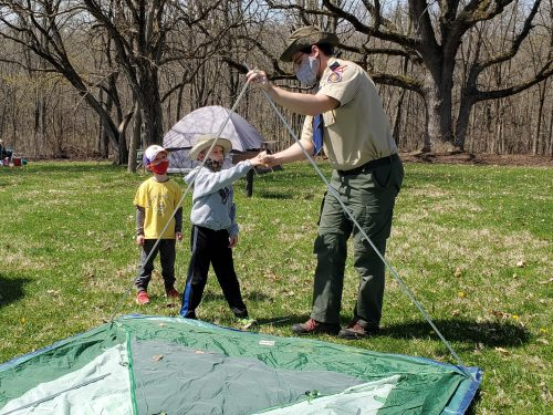cub scout activities: guide to cub scouts in the Iowa City area