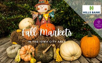 Graphic: Fall Markets in the Iowa City Area