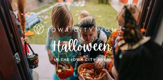 graphic: Halloween in the Iowa City area